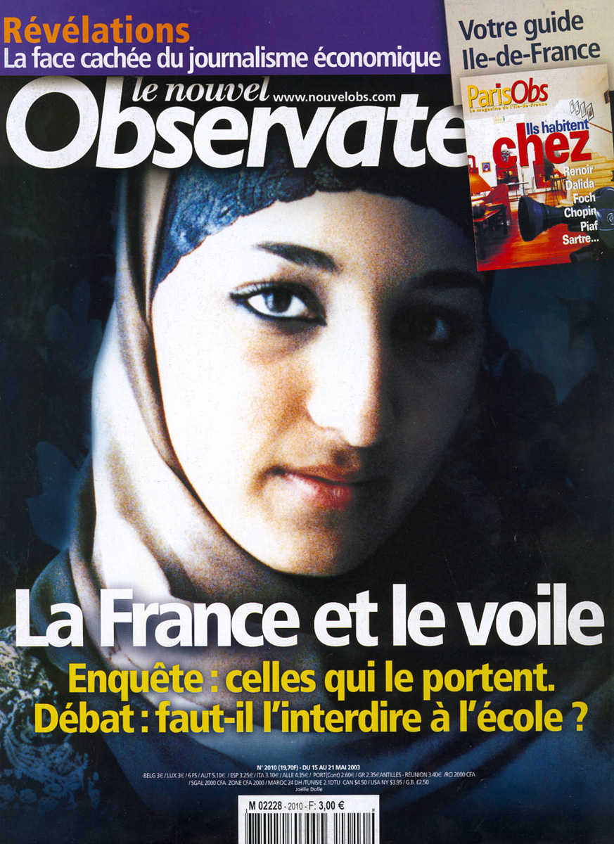 NOUVEL OBS - la France et le voile